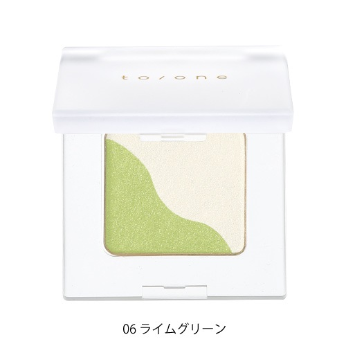 【to/one】ペタル アイシャドウ<全27色>(06:ライムグリーン - 06:Lime green)
