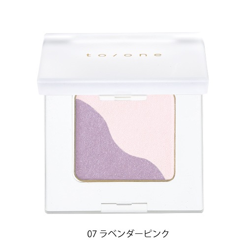 【to/one】ペタル アイシャドウ<全27色>(07:ラベンダーピンク - 07:Lavender pink)